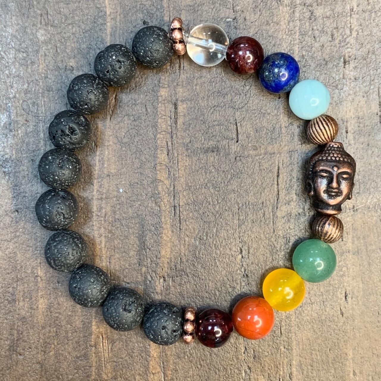 Chakra Balancing Bracelet (Buddha)
