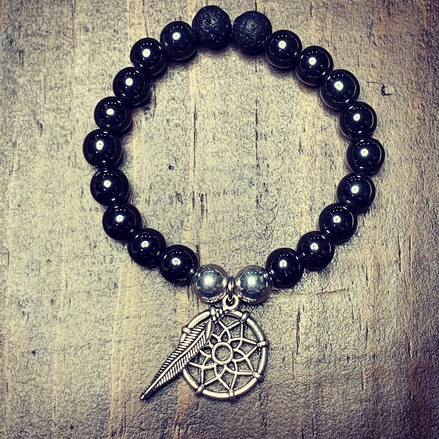 Shaman's Hematite Protection Bracelet
