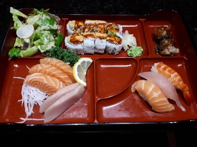 Sushi & Sashimi Bento - Lunch