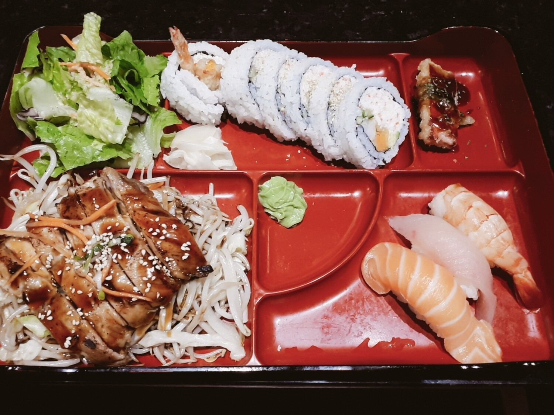 Sushi Bento (Chicken) - Dinner