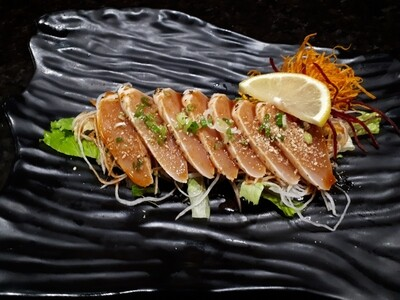 Grilled Tuna Sashimi