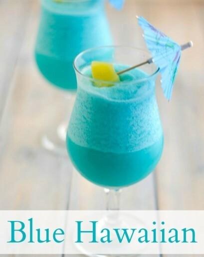 Blue Hawaiian Mix