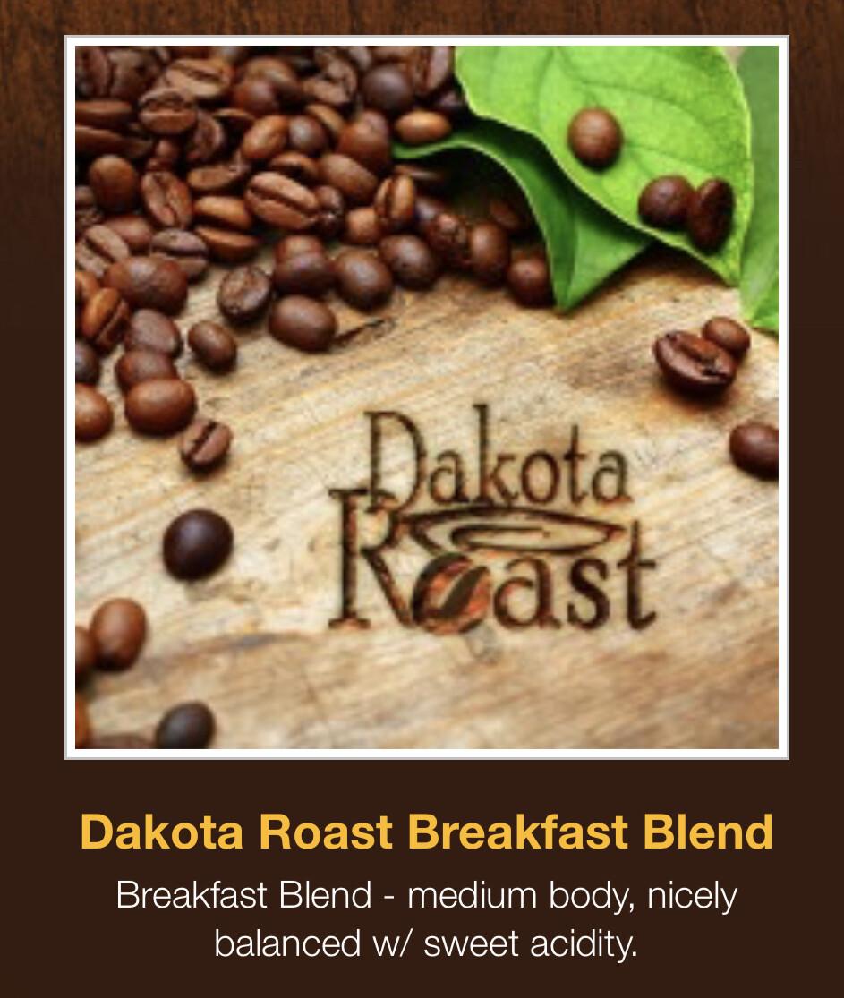 Dakota Roast Breakfast Blend Coffee - K-Cups
