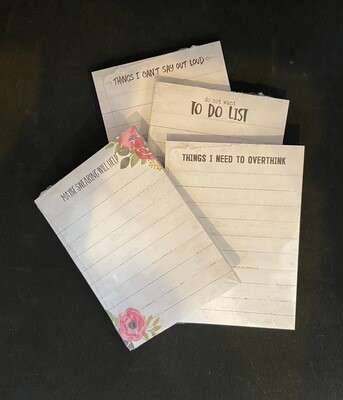 Notepads - Set of 4