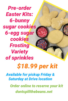 Easter-Themed Sugar Cookie Kits
