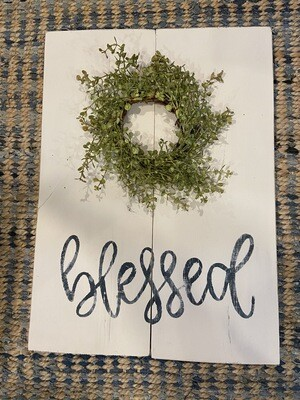 Blessed Greenery Craft Kit - Greenery Option 1