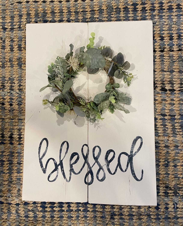 Blessed Greenery Craft Kit -Option 2