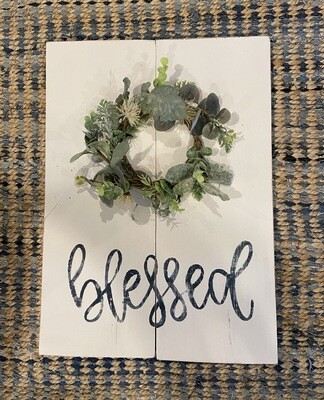 Blessed Greenery Craft Kit -Option 2