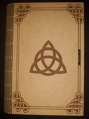 Triquetra Living Hinge Book Box