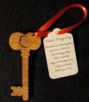 Santa's Magic Key (Dark)