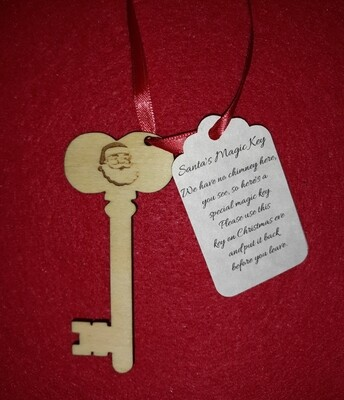 Santa's Magic Key (Natural)