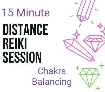 Akasha Zamora Distance Reiki Chakra Balancing Session - 15 Minutes