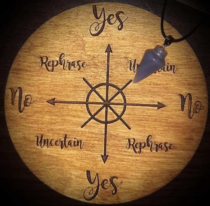 Akasha Zamora Pendulum Reading - 10 Yes or No Questions