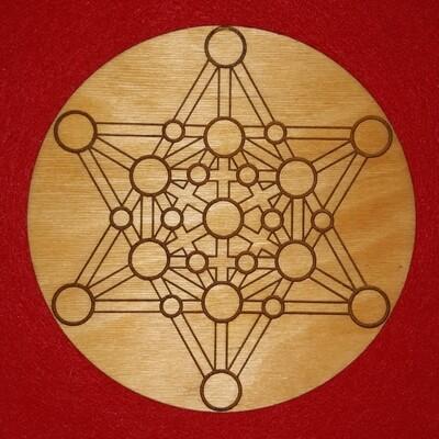 Merkaba Star Tetrahedron Crystal Grid
