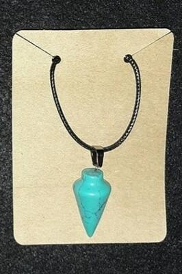Pendulum pendant necklace