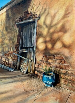 Art of Entropy - Klein Karoo Blue Pot