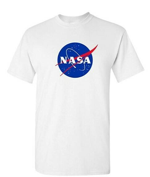 NASA T-Shirt - National Aeronautics and Space Administration T Shirt - OFFICIAL NASA Shirt