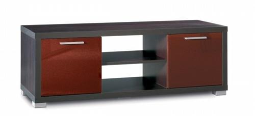 Mobile Porta Tv Wenge.Mobile Porta Tv 2 Ante In Vetro Laccato Wenge Rosso