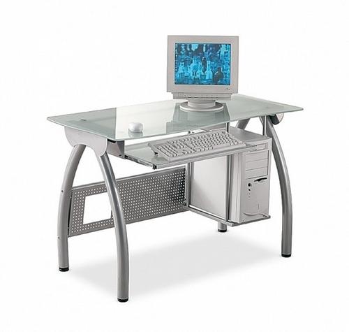 Tavolo Porta Computer - Alluminio
