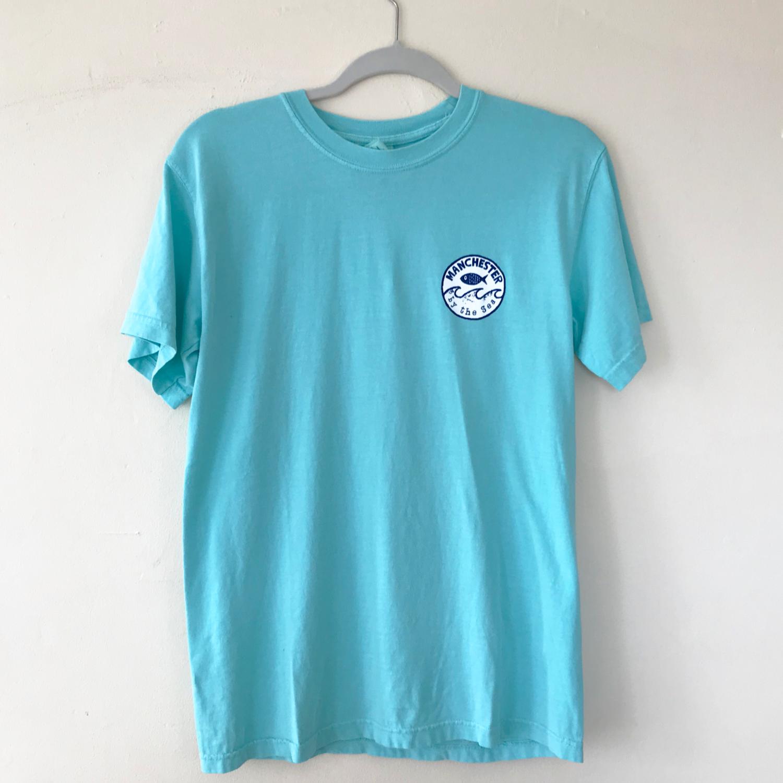 Mint | Short Sleeve | Wave Stamp