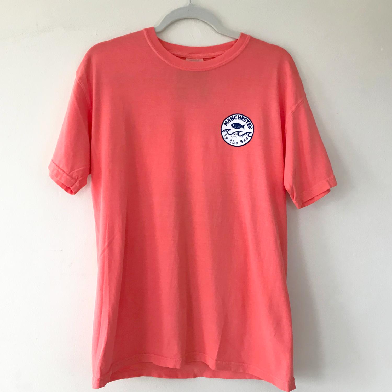Coral | Short Sleeve | Wave Stamp