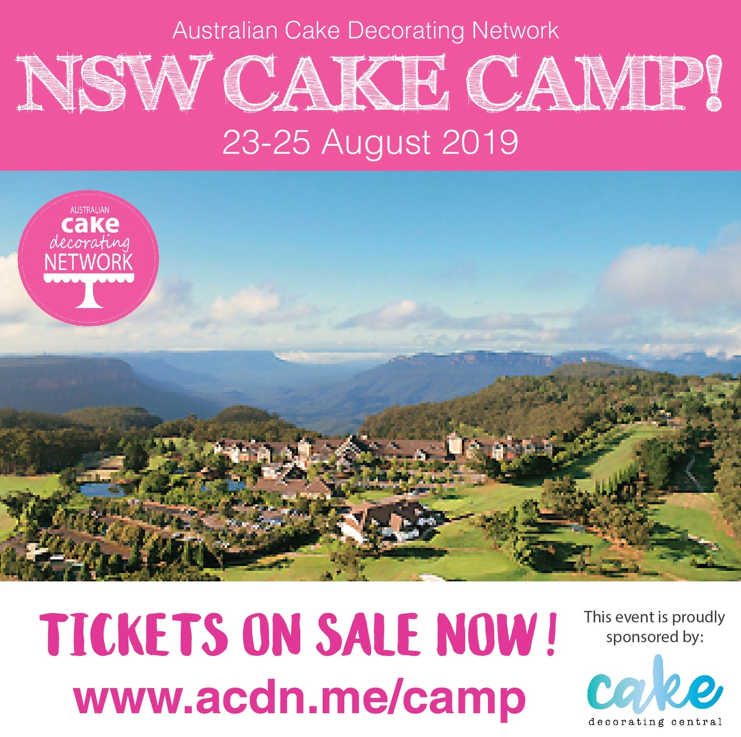 NSW Cake Camp ticket (Deposit)