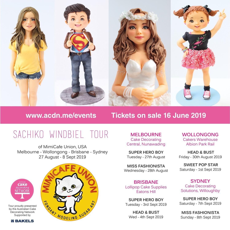 Sachiko Windbiel - Mimicafe Union Tour Tickets - BOTH courses