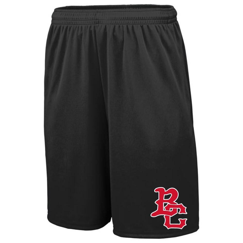 2020 BC Baseball-Mesh Short with Side Pockets and Back Hip Pocket-Embroidered Logo