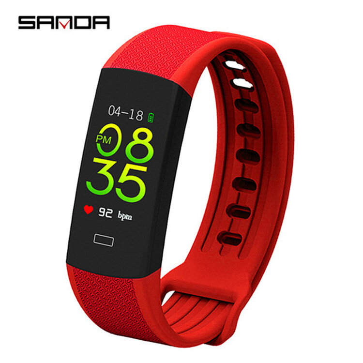 SANDA B6  Fitness Bluetooth Men Women Smartwatch Sport Android &IOS