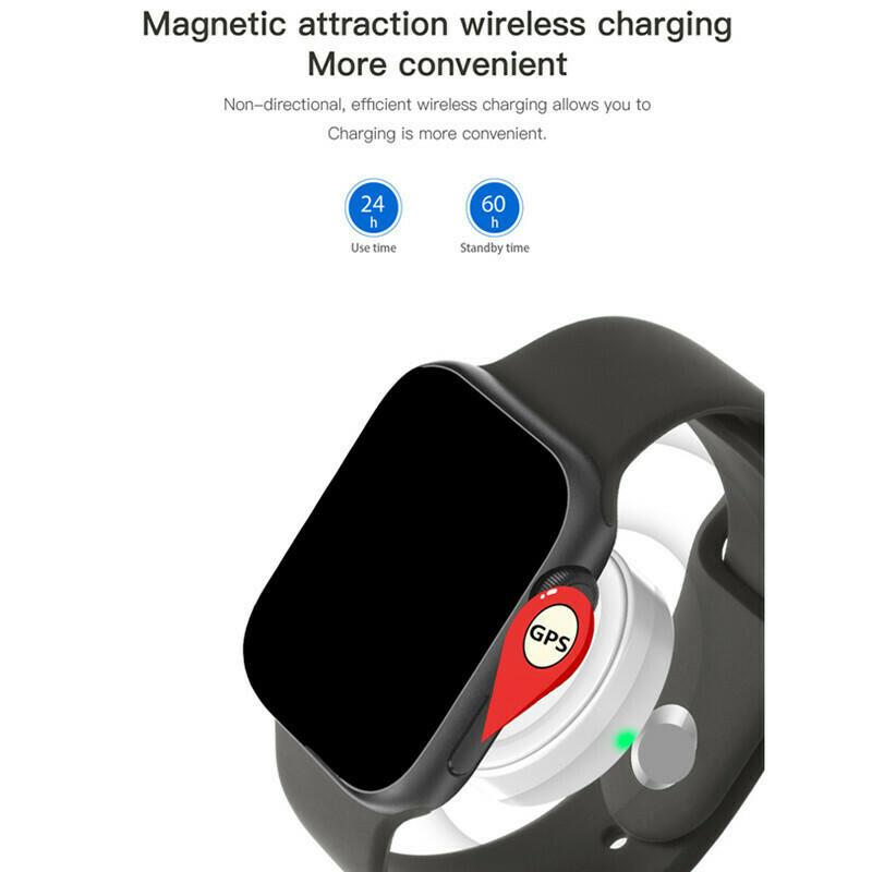 IWO 10 11 touch screen wireless smart watch