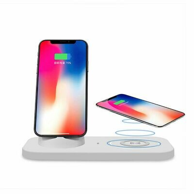 2 in 1 charging station Wireless Charger for mobile