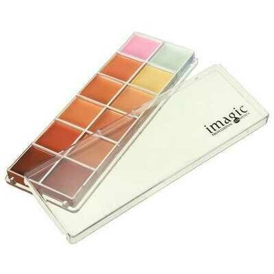 12 Naked Colors Thin Lasting Concealer Foundation Cream Palette Makeup