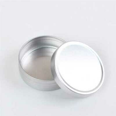 10pcs 10ml Empty Cosmetic Aluminium Pot Jar Tin Container Storage