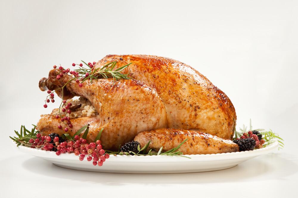 DISCOUNTED PRICE! Fresh Organic Norfolk Black Turkey  5.0 - 5.99 kg