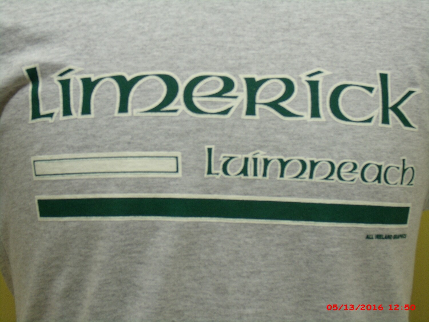 LIMERICK COUNTY SWEAT