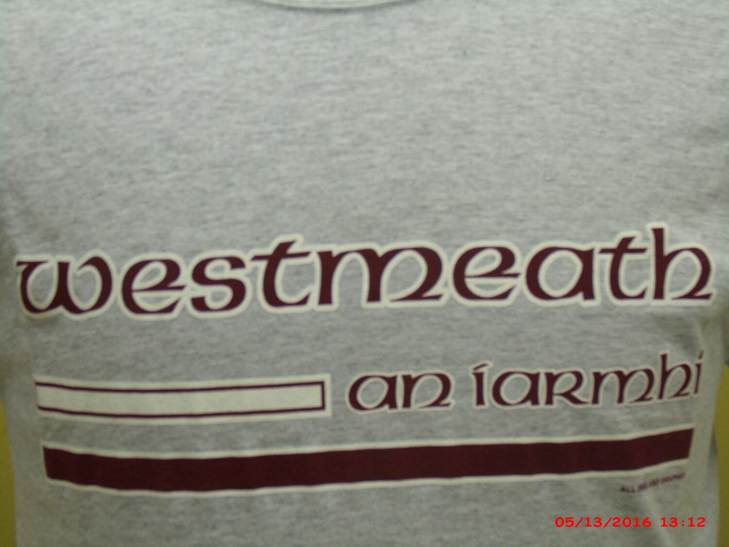 WESTMEATH COUNTY SWEAT