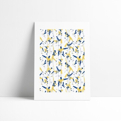 Limited Edition Climbers Pattern