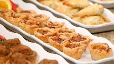Apple Cranberry & Cheddar Tartlets