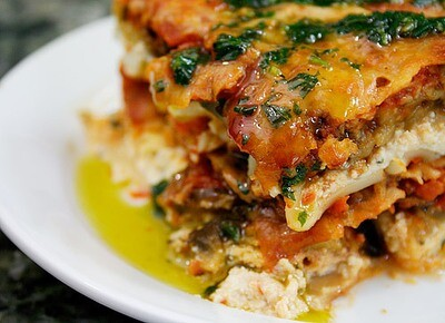 Vegetable Lasagnette  (Available in 3 sizes.)