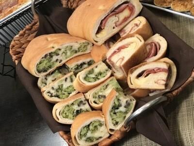 Broccoli & Cheese Calzone Loaf