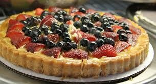 Fresh Berry Fruit Tart 10
