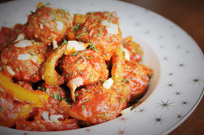 Meatballs & Peppers By The LB