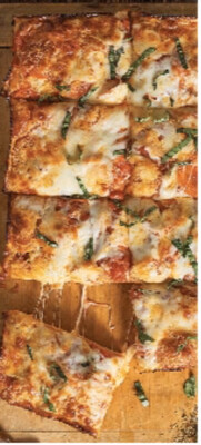 Grilled Veggie Bomb Pizza
