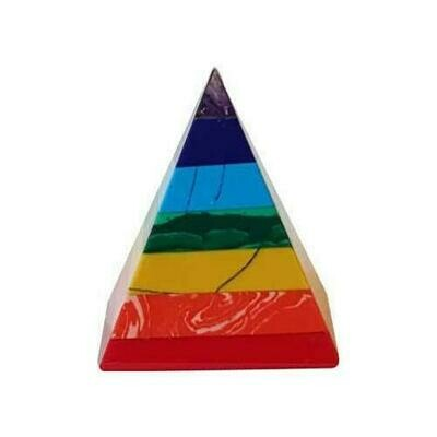 25-30mm 7 Chakra pyramid
