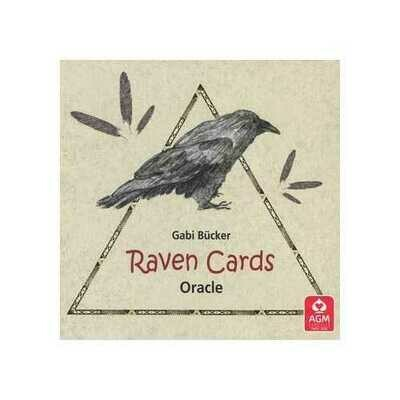Raven Cards oracle by Gabi Bucker