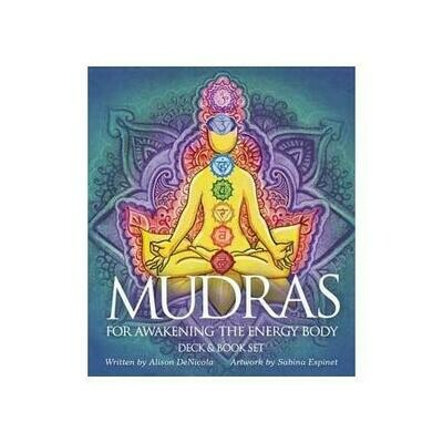 Mudras for awakening the Energy Body deck & book by Denicola & Espinet