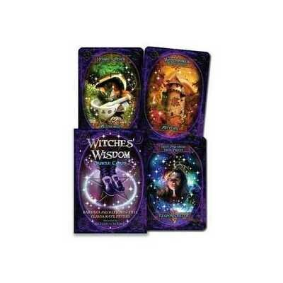 Witches' Wisdom oracle by Meiklejohn-Free & Peters