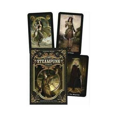 Steampunk Tarot Deck & Book by Barbara Moore