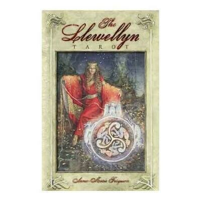 Llewellyn tarot deck & book by Ferguson & Anna-Marie