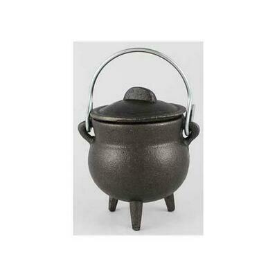Plain Cast Iron Cauldron 3